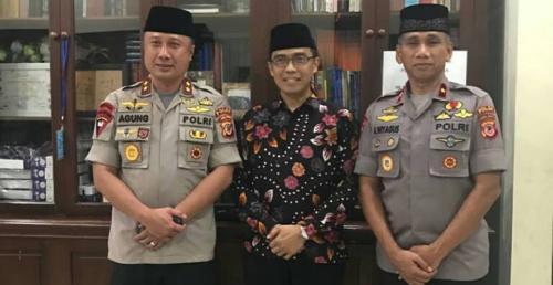 Kapolda Jawa Barat Silaturrahim Ke Pesantren